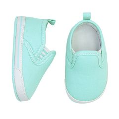 Baby Boy Goldbug 'Shine Bright' Slip On Crib Shoes