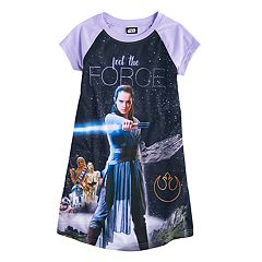 Girls 6-14 Star Wars Rey 'Feel the Force' Nightgown