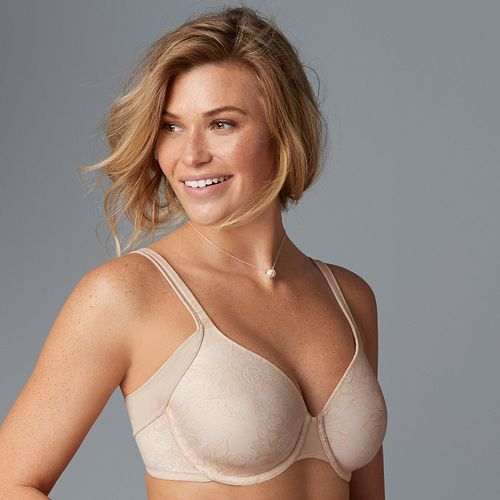 c7c2b94cbf2bb Bali Bras  One Smooth U Full-Figure Underwire Bra DF6548