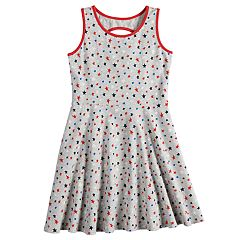 Girls 4-10 Jumping Beans® Star Skater Dress