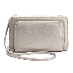 Apt. 9® Double Zip-Around RFID-Blocking Wristlet