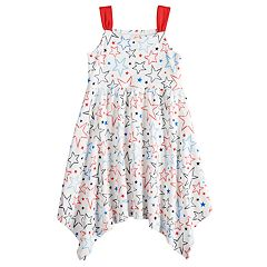 Girls 4-10 Jumping Beans® Star Handkerchief Hem Dress