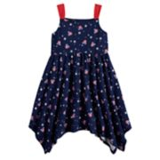 Disney's Minnie Mouse Girls 4-10 Patriotic Handkerchief Dress by Jumping Beans®