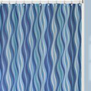 Creative Bath Wavelength Shower Curtain