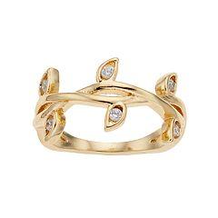 LC Lauren Conrad Vine Midi Ring