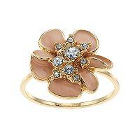 LC Lauren Conrad Flower Ring