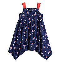 Disney's Minnie Mouse Toddler Girl Handkerchief-Hem Dress by Jumping Beans®