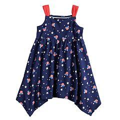 Disney's Minnie Mouse Toddler Girl Handkerchief-Hem Dress by Jumping Beans®