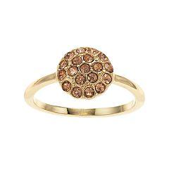 LC Lauren Conrad Pink Cluster Ring