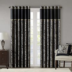 Madison Park Wellington Jacquard 2-pack Window Curtains