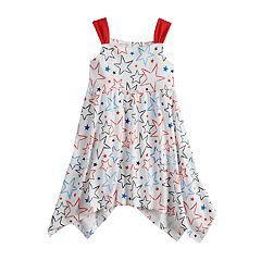 Toddler Girl  Jumping Beans® Star Print Americana Dress
