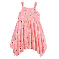 Girls 4-10 Jumping Beans® Patterned Handkerchief Dress