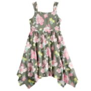 Girls 4-10 Jumping Beans® Patterned Handkerchief Dress