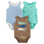 Baby Boy Carter's 3-Pack Sleeveless Bodysuits