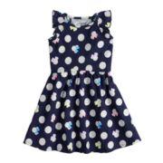 Disney's Minnie Mouse Girls 4-10 Glittery Dot Dress by Jumping Beans®