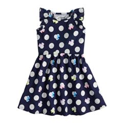 Disney's Minnie Mouse Girls 4-10 Glittery Dot Dress by Jumping Beans®