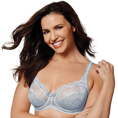 61936bc7a7f32 Playtex Bras  Love My Curves Beautiful Lace   Lift Full-Figure Underwire Bra  US4825