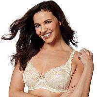Playtex Bras: Love My Curves Beautiful Lace & Lift Full-Figure Underwire Bra US4825