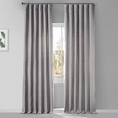 EFF French Linen Window Curtain