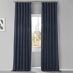 EFF 1-Panel French Linen Window Curtain