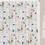 Creative Bath Botanical Diary Shower Curtain