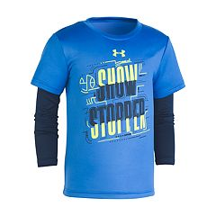 Boys 4-7 Under Armour 'Show Stopper' Mock Layer Tee