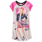 "Girls 6-12 JoJo Swia ""Be You"" Dorm Nightgown"