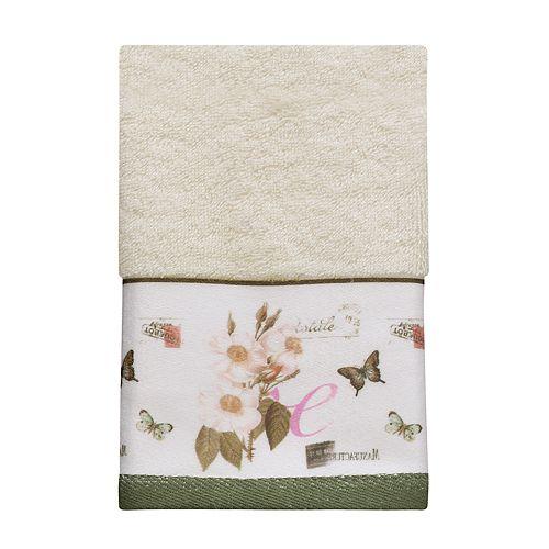 Creative Bath Botanical Diary Fingertip Towel