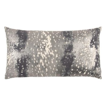 Rizzy Home Subtle Abstract Oblong Throw Pillow