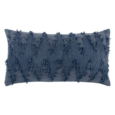 Rizzy Home Deconstructed Chevron Oblong Throw Pillow