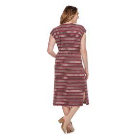 Plus Size SONOMA Goods for Life? Stripe Midi Dress