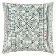 Rizzy Home Ornate Geometric Print Throw Pillow
