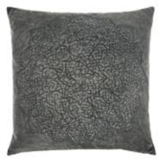Rizzy Home Subtle Medallion Throw Pillow