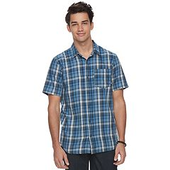 Men's Vans Plaid Button-Down Shirt
