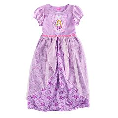 Disney's Rapunzel Girls 4-8 Sparkly Dress-Up Nightgown