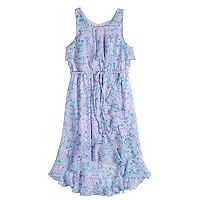 Disney Princess Girls 7-16 Yoryu High-Low Wrap Dress
