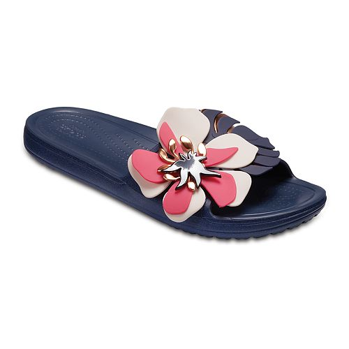 a4336098535 Crocs Botanical Women s Slide Sandals