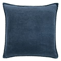 Rizzy Home Velvet Solid I Throw Pillow