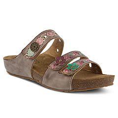 L'Artiste By Spring Step Freesia Women's Slide Sandals