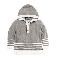Baby Boy Burt's Bees Baby Organic Hooded Sweater