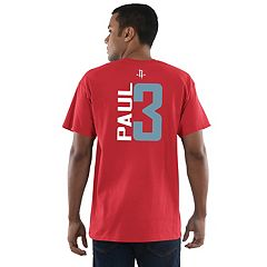 Men's Majestic Houston Rockets Chris Paul Name and Number Tee