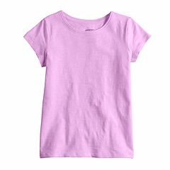 Girls 4-10 Jumping Beans® Basic Solid Tee