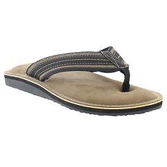 Men's Hi-Tec Chuck Memory Foam Thong Flip-Flops