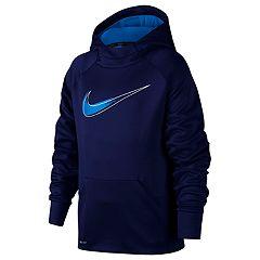 Boys 8-20 Nike Fading Swoosh Therma Hoodie