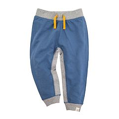 Baby Boy Burt's Bees Baby French Terry Contrast Organic Jogger Pants