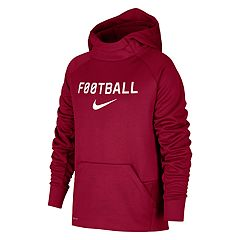Boys 8-20 Nike Therma Football Hoodie