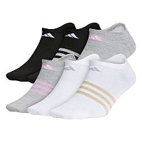 Girls 4-16 adidas climalite superlite 6-pk. No-Show Lurex Socks