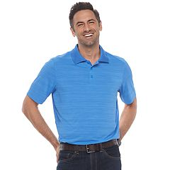 Men's Croft & Barrow® Cool & Dry Classic-Fit Space-Dye Performance Polo