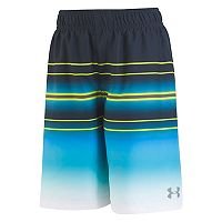 Boys 8-20 Under Armour Galaxy Stripe Volley Shorts