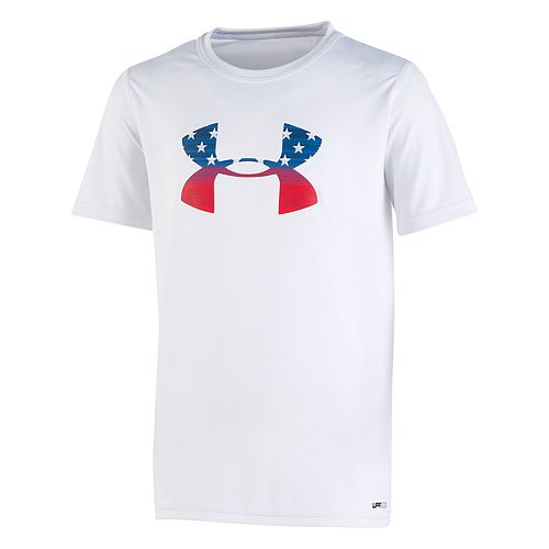 Boys 8-20 Under Armour Stars & Stripes Rash Guard Top